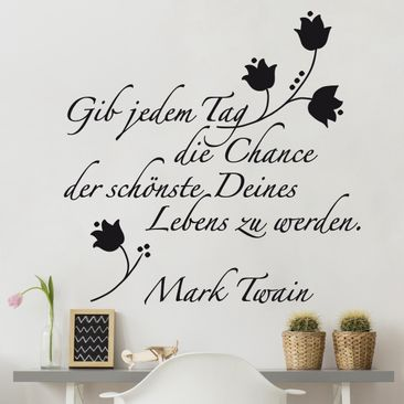 Product picture Wall Decal no.SF242 der schönste Tag 2