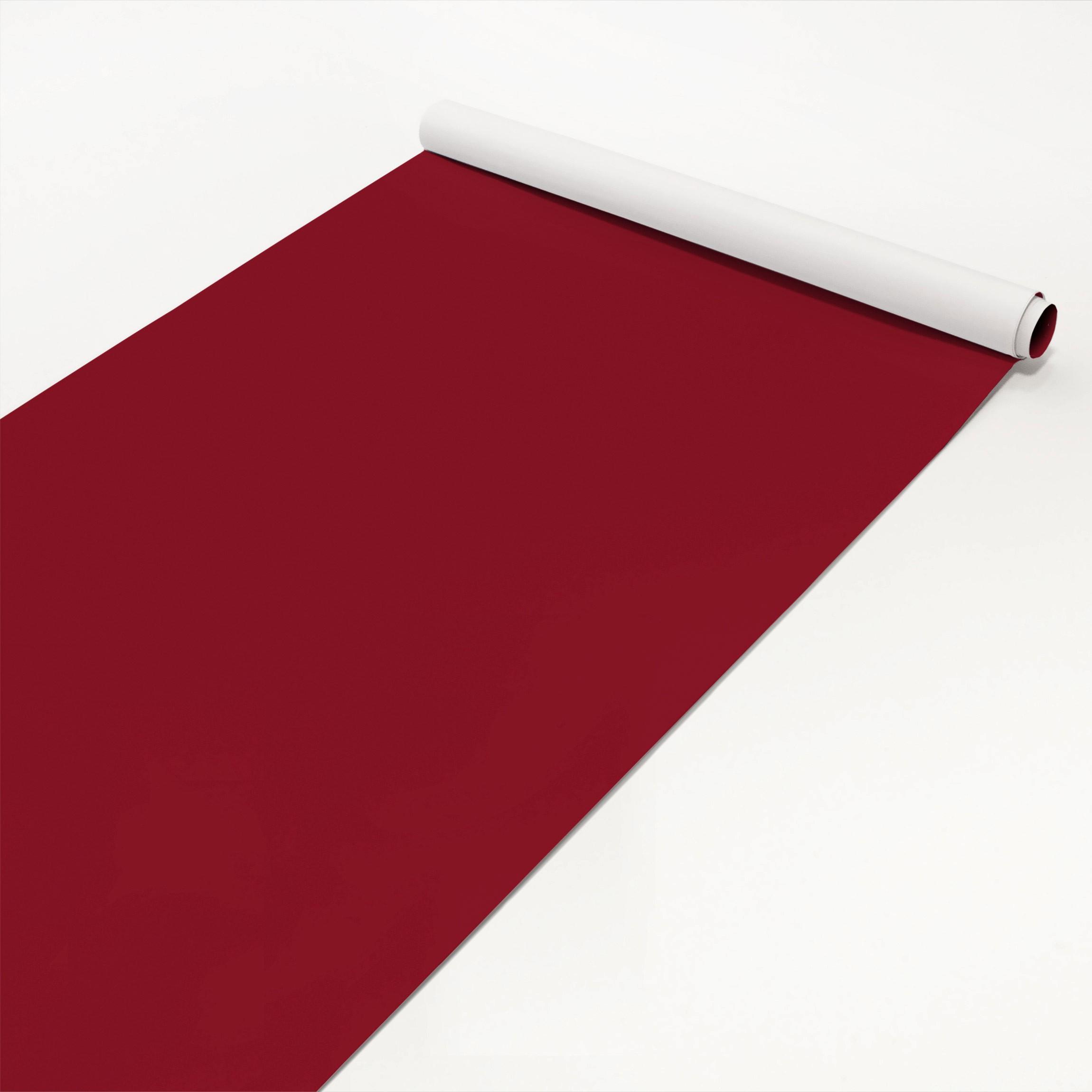 Klebefolie Rot Einfarbig Amarena Rote Folie Selbstklebend