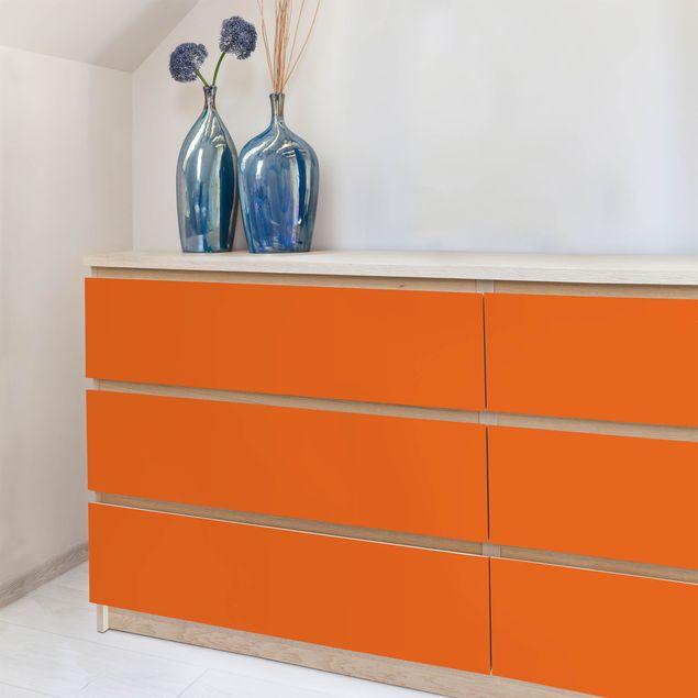 Produktfoto Klebefolie orange rot einfarbig - Mohn - Selbstklebende Folie
