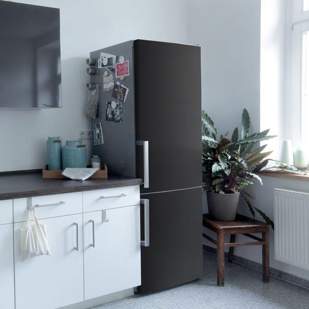 Produktfoto Klebefolie schwarz einfarbig - Tiefschwarz - Selbstklebende Folie