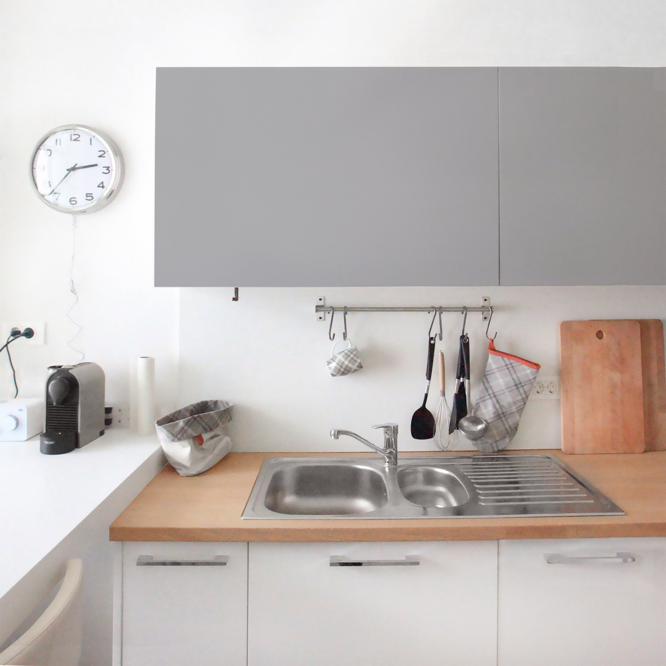 Carta adesiva per mobili colour agate grey for Carta adesiva mobili