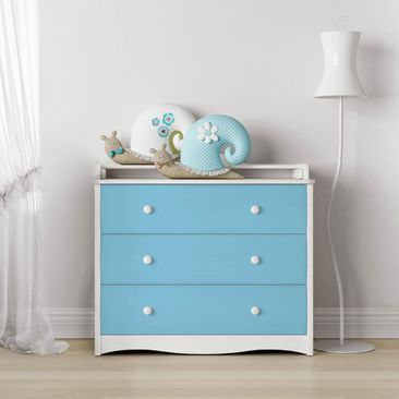 Produktfoto Möbelfolie hellblau einfarbig -...