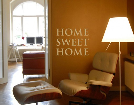 Produktfoto Wandtattoo Sprüche - Wandworte No.SF192 home sweet home 2