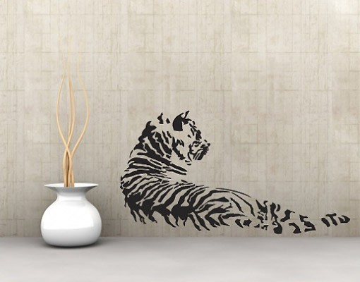 Produktfoto Wandtattoo Tiger No.UL170 Tiger