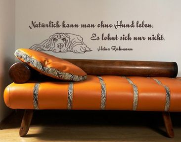 Product picture Wall Decal no.AU19 Rühmann Hund 2