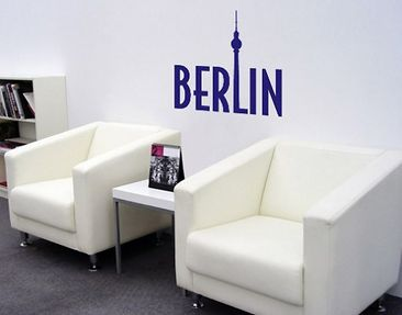 Product picture Wall Decal no.SF340 Berlin