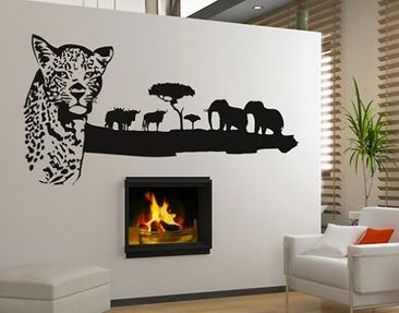 Product picture Wall Decal no.BR222 african wildlife
