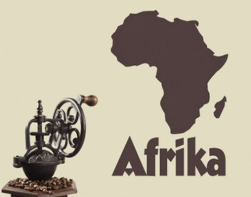 Produktfoto Wall Decal no.UL197 map africa