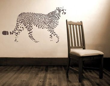 Product picture Wall Decal no.UL199 cheetah