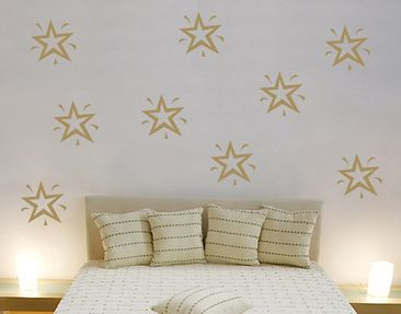 Produktfoto Wall Decal no.SF117 nine stars