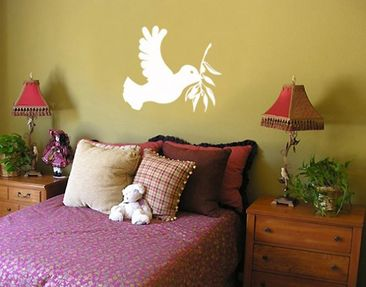 Produktfoto Wall Decal no.BR117 dove of peace