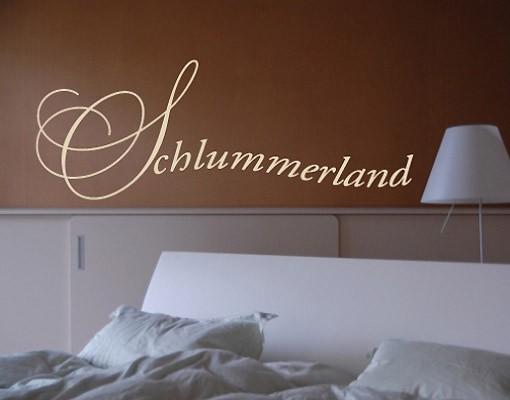 Produktfoto Wandtattoo No.UL118 Schlummerland