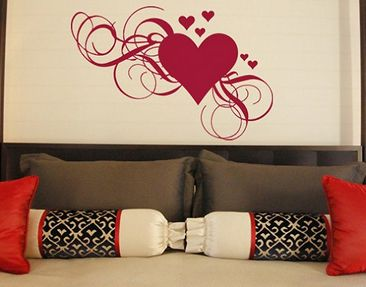 Product picture Wall Decal no.334 hearts