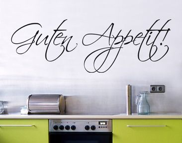 Produktfoto Wall Decal no.SF108 Guten Appetit