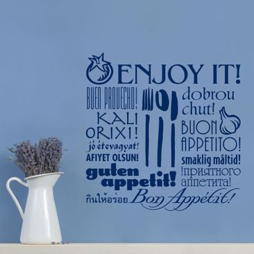 Product picture Wall Decal no.SF113 Enjoy it!
