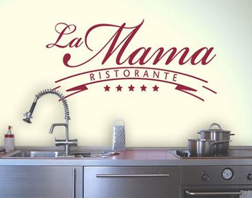 Product picture Wall Decal no.BR109 La Mama