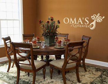 Produktfoto Wall Decal no.SF249 Omas Restaurant