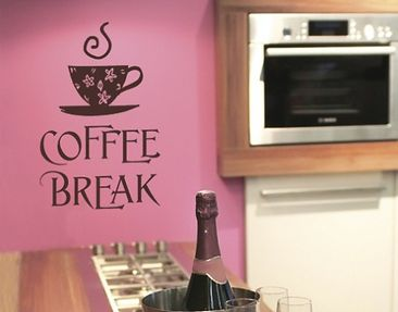 Product picture Wall Decal no.SF309 coffee break 1