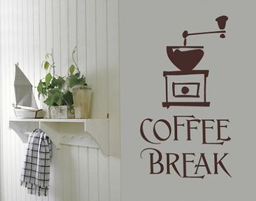 Product picture Wall Decal no.SF317 coffee break 5
