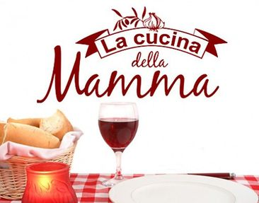 Product picture Wall Decal no.BR203 cucina la mamma