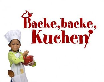 Product picture Wall Decal no.BR204 backe Kuchen