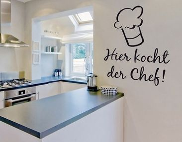 Produktfoto Wall Decal no.BR216 Chefkoch