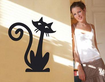 Produktfoto Wandtattoo Katze No.SF163 funny cat