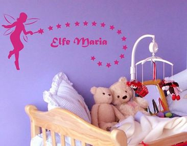 Product picture Wall Decal no.NH20 CustomText Elf