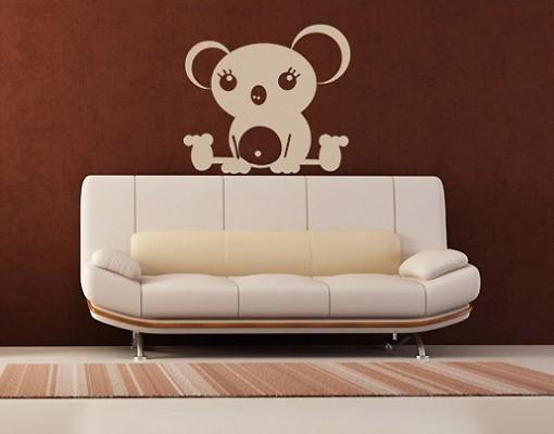 Produktfoto Wandtattoo Babyzimmer Bär No.AR9 Koala