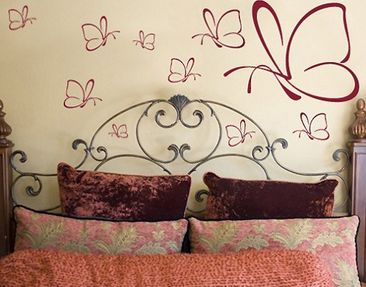 Product picture Wall Decal no.13 ten butterflies