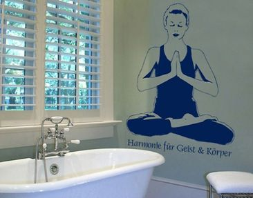 Produktfoto Wall Decal no.BR120 yoga