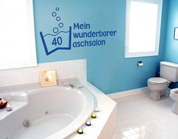 Product picture Wall Decal no.BR183 launderette