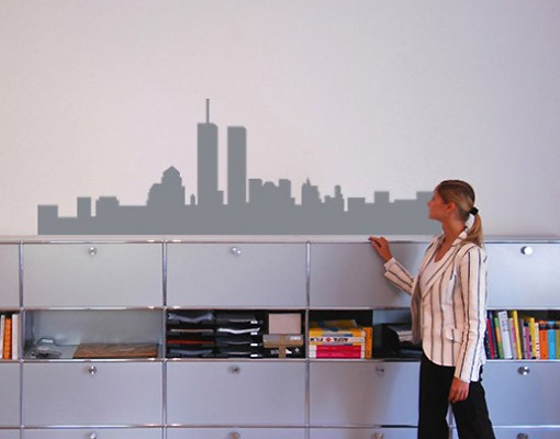 Produktfoto Wandtattoo Skyline No.NH38 Skyline New York