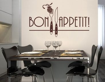 Produktfoto Wall Decal no.SF141 Bon Appetit