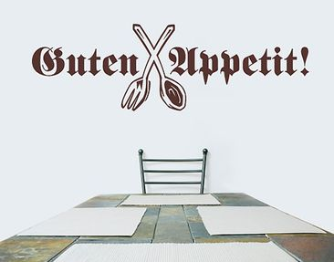 Produktfoto Wall Decal no.SF136 Guten Appetit!