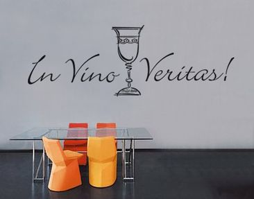 Produktfoto Wall Decal no.SF159 In Vino Veritas