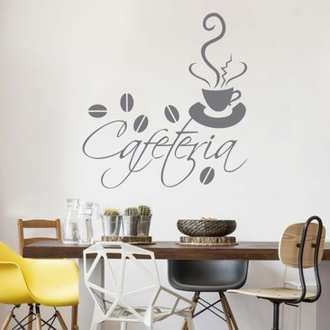 Product picture Wall Decal no.SF162 Cafeteria