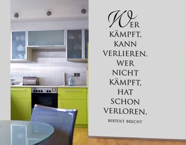 Product picture Wall Decal no.SF186 Kämpfen lohnt 2