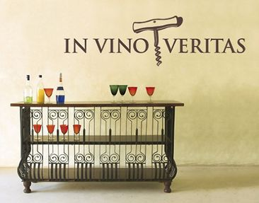 Product picture Wall Decal no.SF284 In Vino Veritas 2