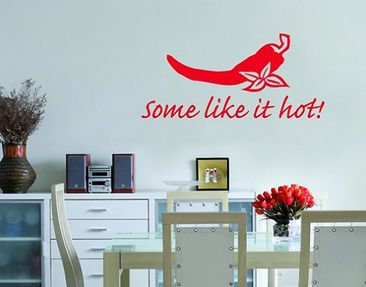 Product picture Wall Decal no.SF218 Some like it hot