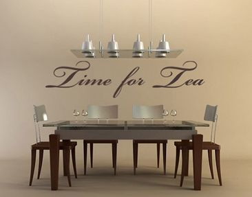 Produktfoto Wall Decal no.NH34 time for tea
