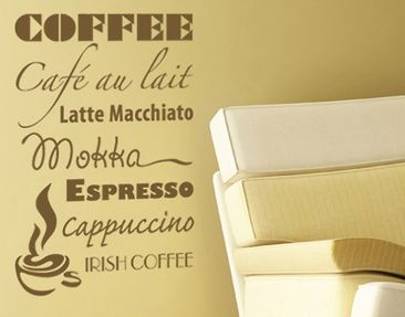 Produktfoto Wall Decal no.AU4 coffee