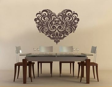 Product picture Wall Decal no.330 ornament heart