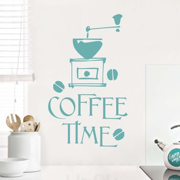 Produktfoto Wandtattoo Sprüche - Wandworte No.SF318 Coffee Time 5