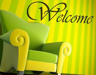 Product picture Wall Decal no.NH36 welcome 2