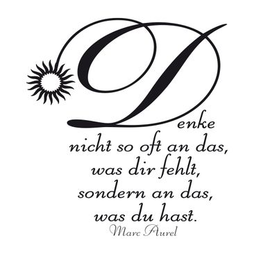 Produktfoto Wall Decal no.200 was du hast..