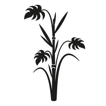 Product picture Wall Decal no.359 bamboo fern