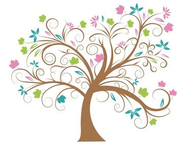 Product picture Wall Decal no.57 Magic Tree