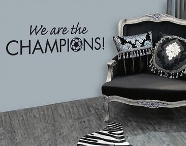 Produktfoto Wall Decal no.SF296 Champions