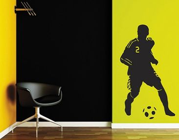 Produktfoto Wall Decal no.UL186 soccer player 2